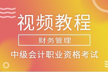 中级会计职业资格考试(财务管理)视频教程