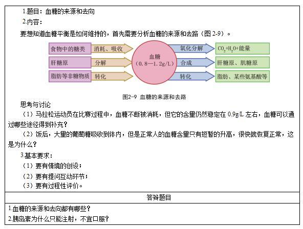 2017上半年教师资格证面试真题及解析:高中生物(第三批)图片