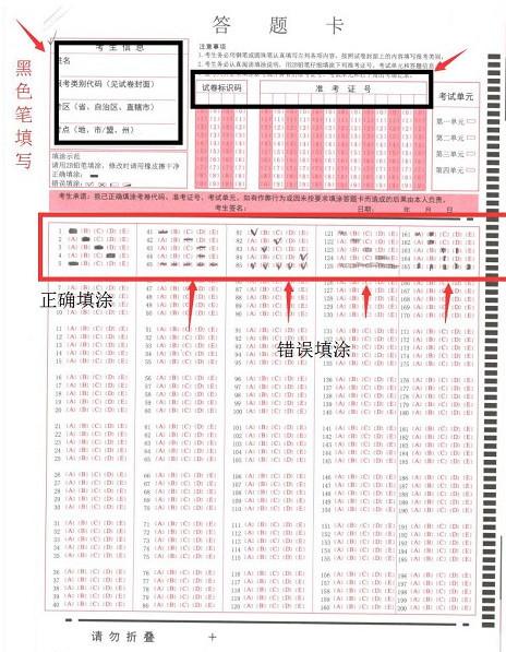 执业药师考试答题卡样本.jpg