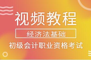 2019年初级会计职业资格考试(经济法基础)视频教程